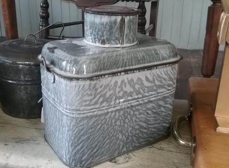 Metal Lunch Box Circa 1910