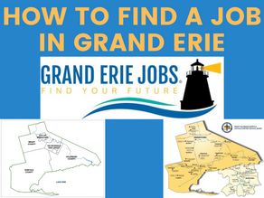 How to find a job in the Grand Erie Region