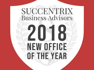 2018 - 2019 Succentrix Awards!