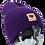 Thumbnail: 206 The Peace beanie - dark purple