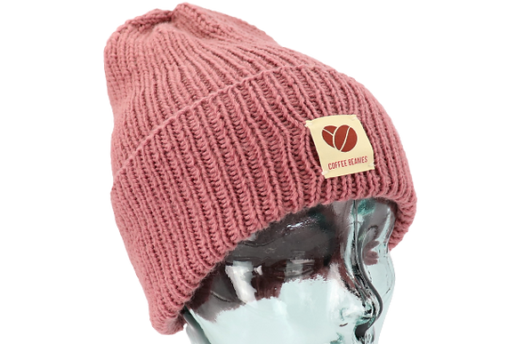 205 The Peace beanie - rose