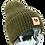 Thumbnail: 204 The Peace beanie - army green