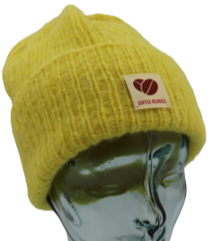 109 - The Sky Beanie - Bright yellow