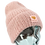 Thumbnail: 102 The Sky beanie - soft pink - lille voksen str.