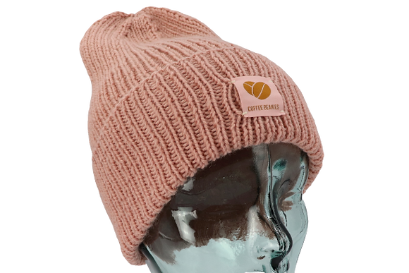 202 The Peace beanie - nude