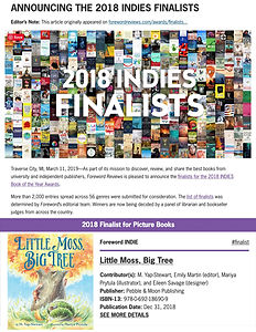 Foreword Reviews Indies Finalist Announc