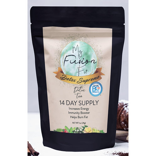 Fusion Fit Detox Supreme Energy 14 Day with added Probiotics