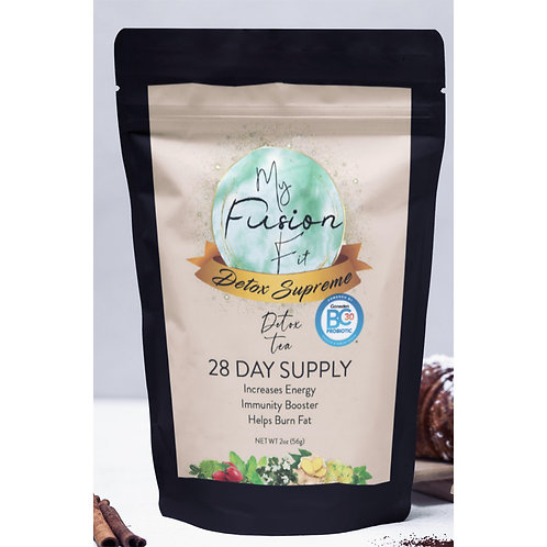 Fusion Fit 28 Day Detox Supreme Energy with added Probiotics