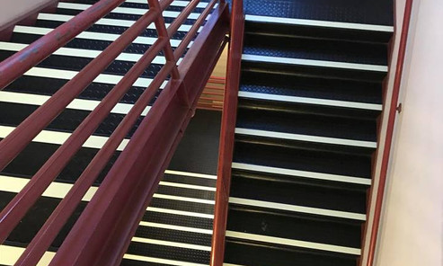 Luminescent V.I. Stair Treads