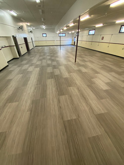 "AFTER PHOTO - Installed, LVT Plank 36"" x 18"""