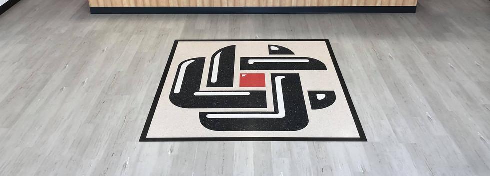 LVT - inlaid logo
