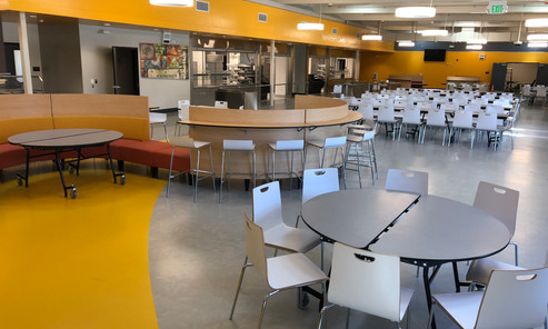 Cafeteria Antioch High School