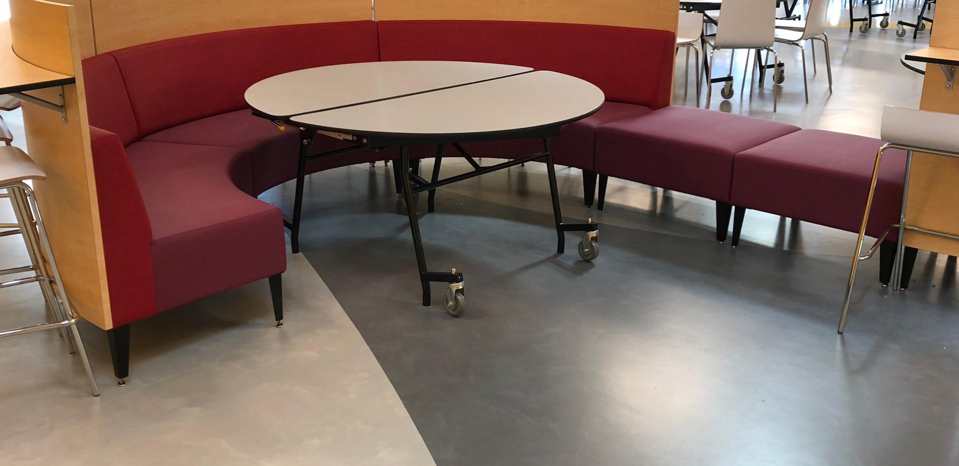 Mondo rubber flooring
