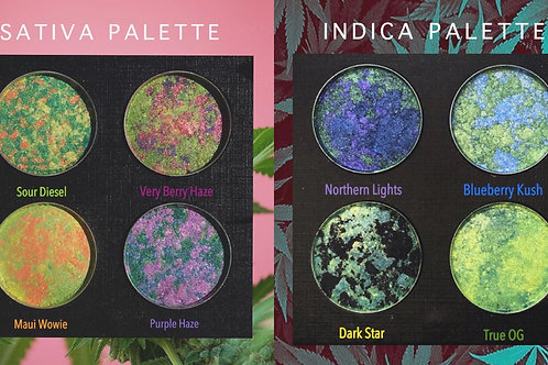 Sativa and Indica Palettes