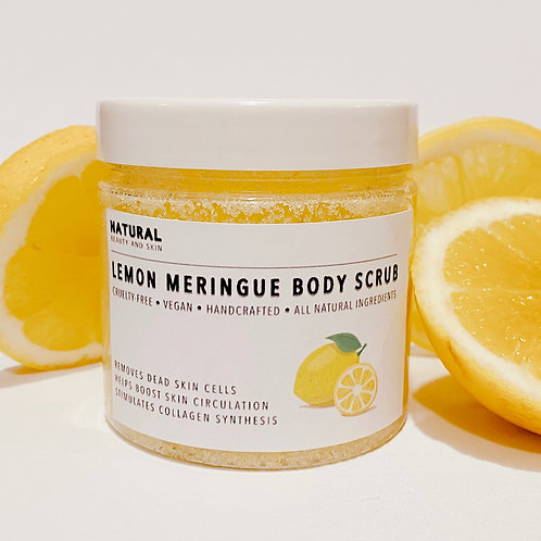 Lemon Cream Body Scrub