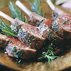 Grilled Lollipop Lamb Chops