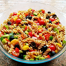 Our pasta salad.....