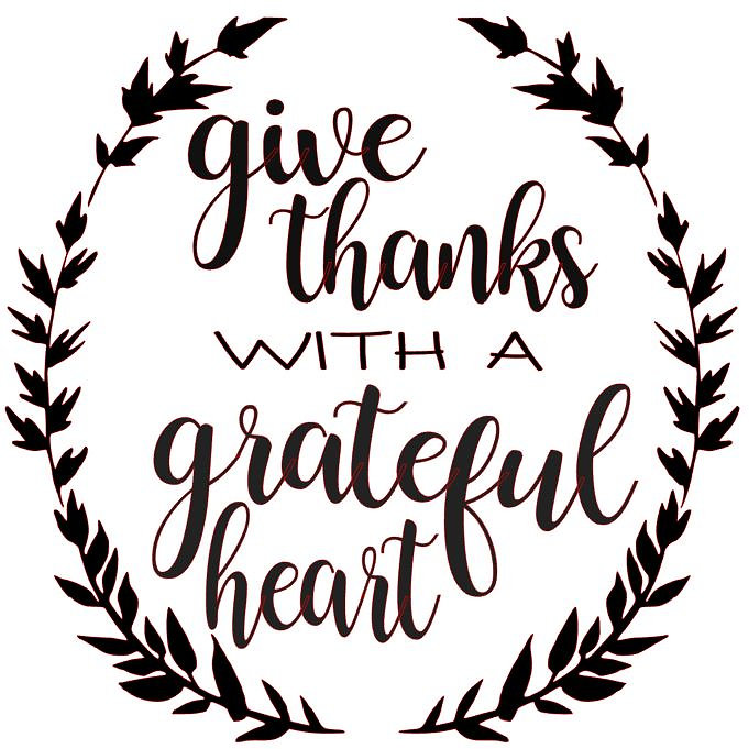 Give Thanks With A Grateful Heart Starting At 25