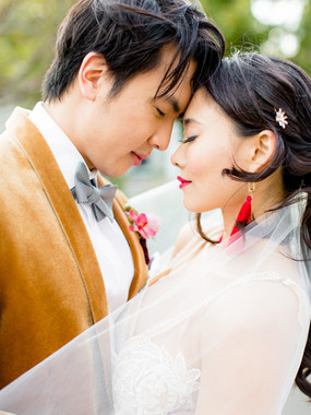 Elegant & Modern Asian Wedding Inspiration | One Culver, Los Angeles