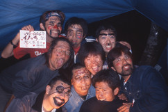 インターネットジャーニー、日本一周、米原キャンプ場で旅人と