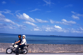 タンデム日本縦断ツーリング、沖縄県