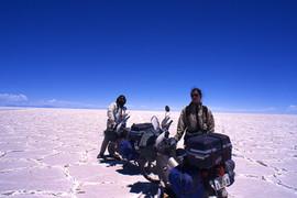 北南アメリカ大陸縦断ウユニ塩湖