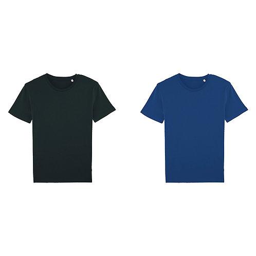 Pack duo - 2 t-shirts hommes en coton BIO au choix