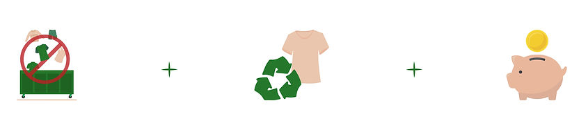 Anti gaspillage revalorisation des vêtem