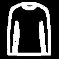Icone t-shirt manche longue homme coton