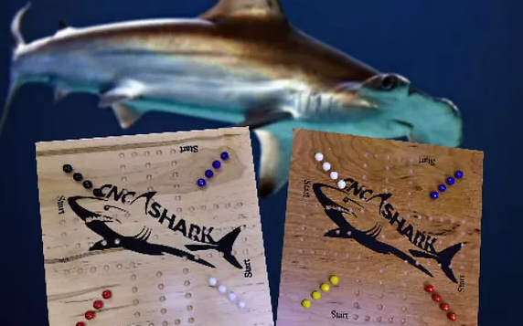 Shark Marble Game