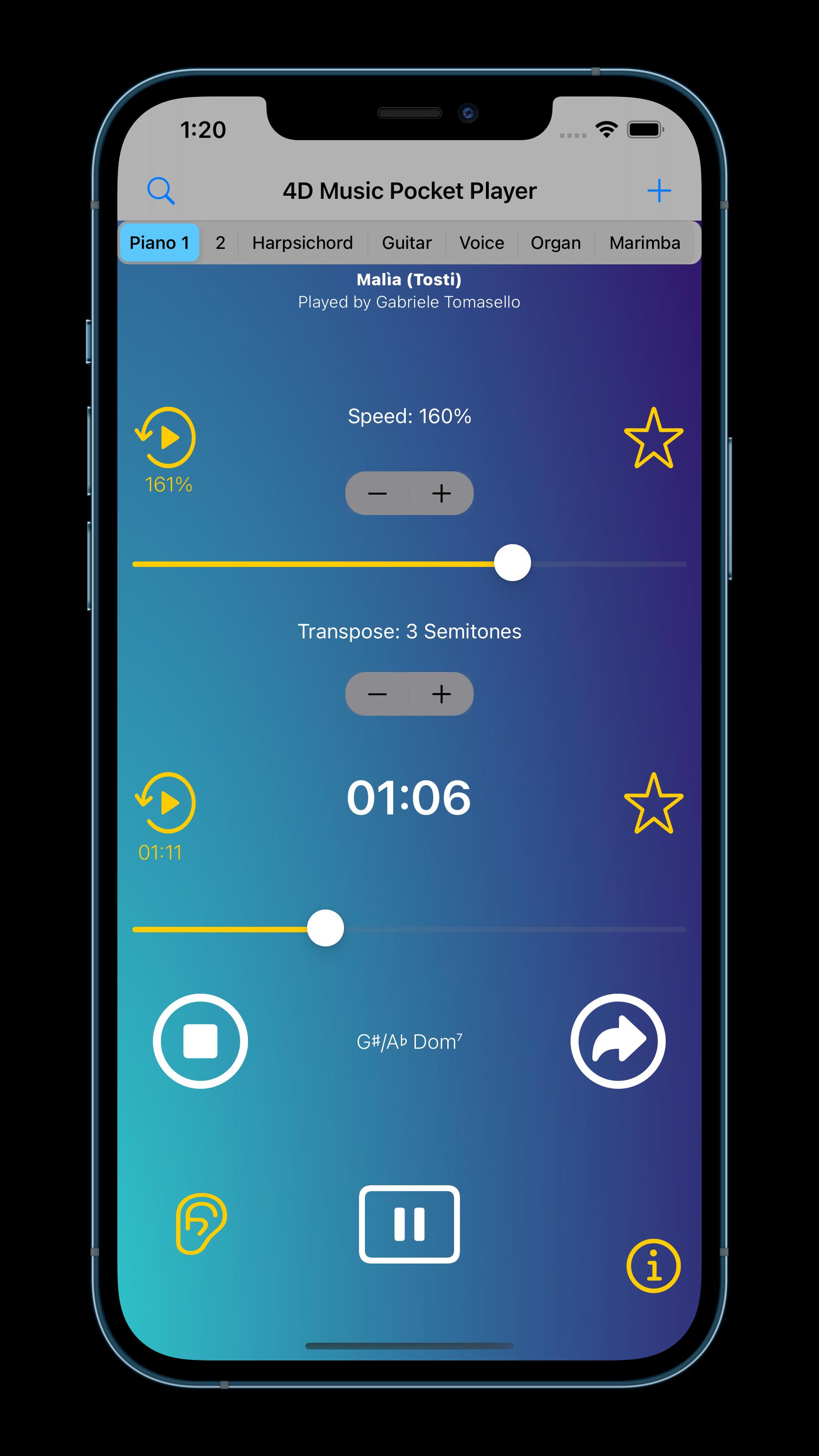 4D Music Pocket Player