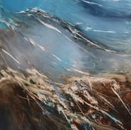 scratched landscape