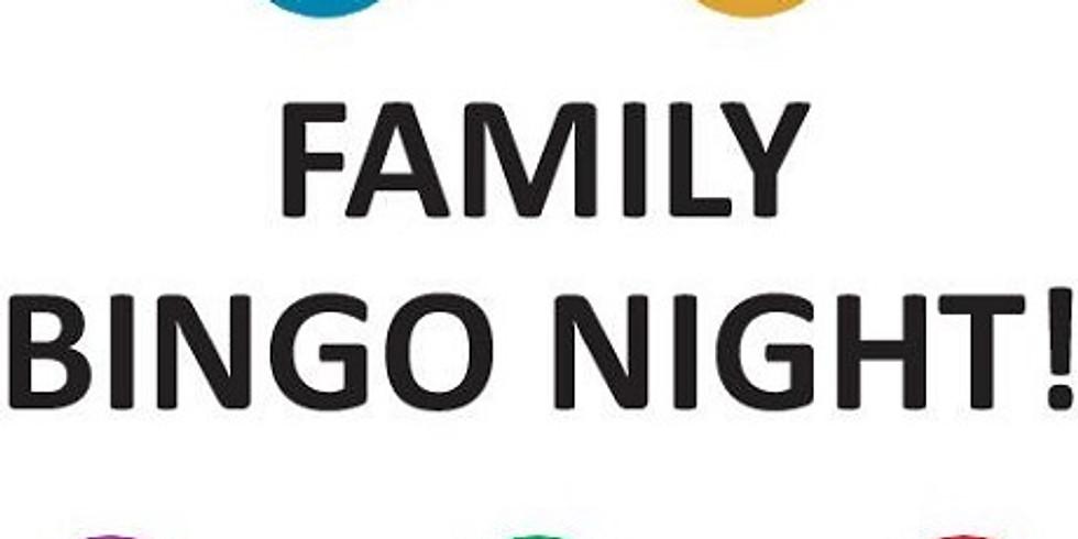 Monday Night Family Bingo