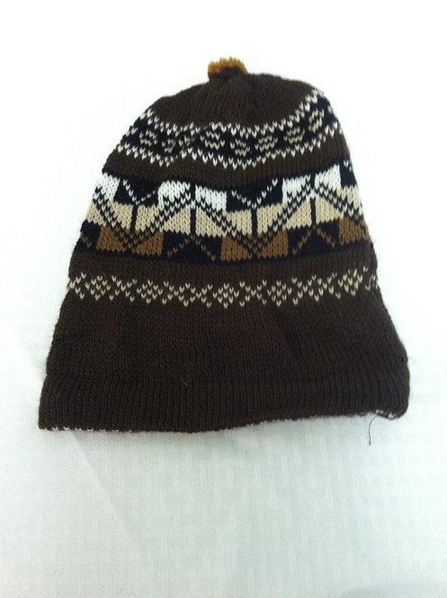 Dark Brown Ski Hat