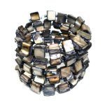 Mother of Pearl Bracelet - Earth Tone