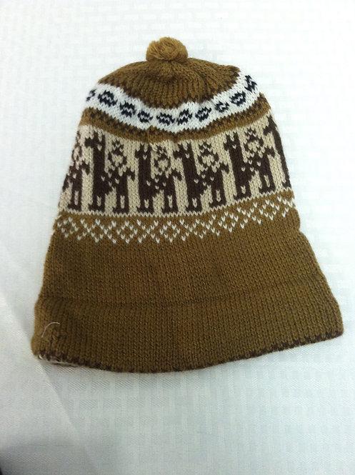 Brown Ski Hat