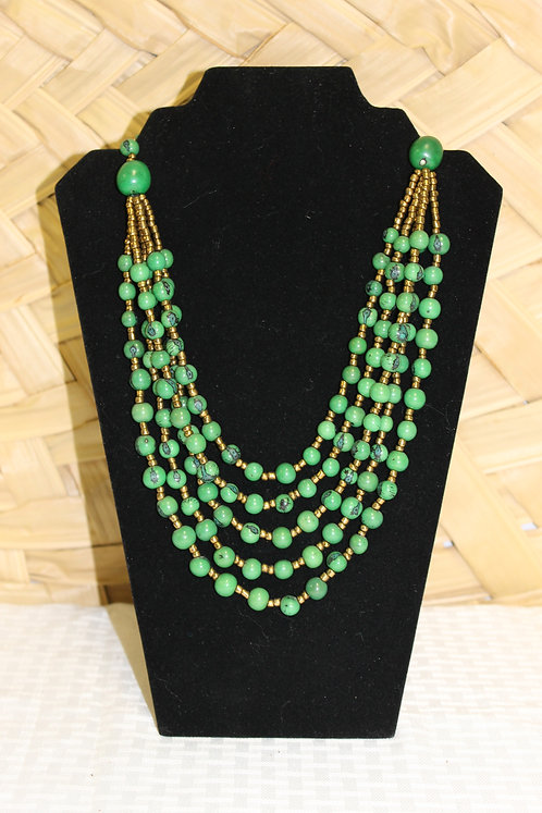 Acai Necklace Green