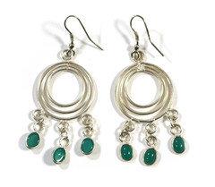 Swaying Kelp Stone Earrings