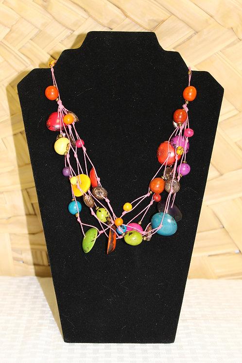 7C Necklace Multi-Color