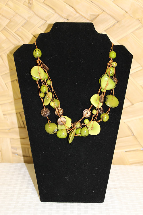 7C Necklace Green