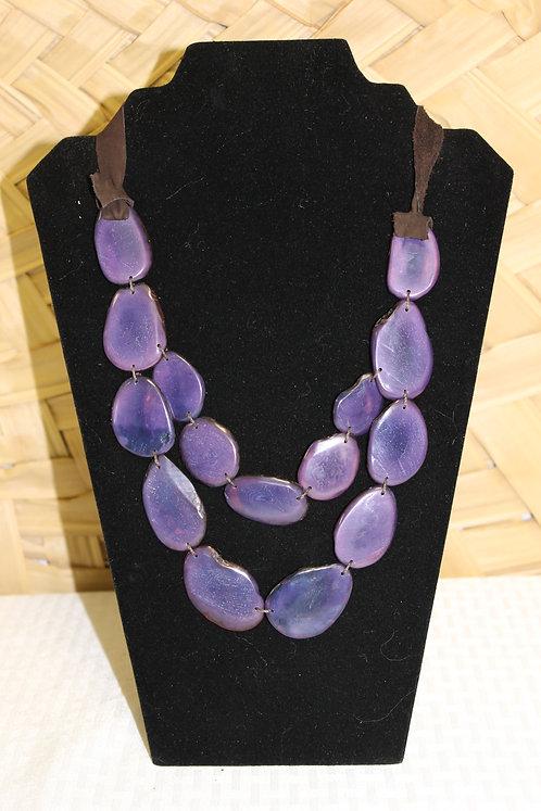 Sliced Tagua Purple