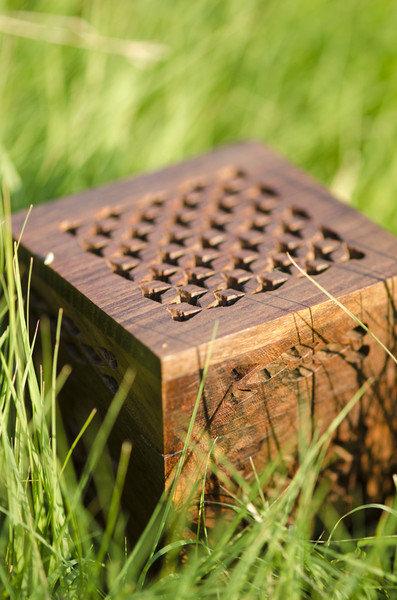 Minature Cutwork Box