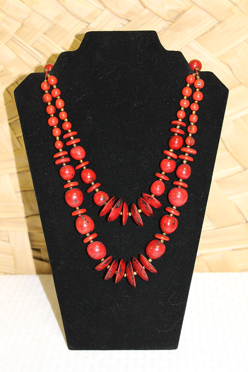 32C Necklace Red