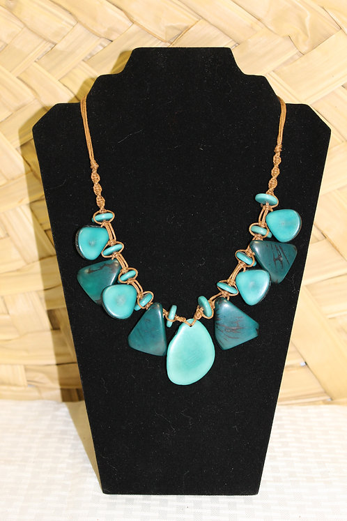 6C Necklace Teal