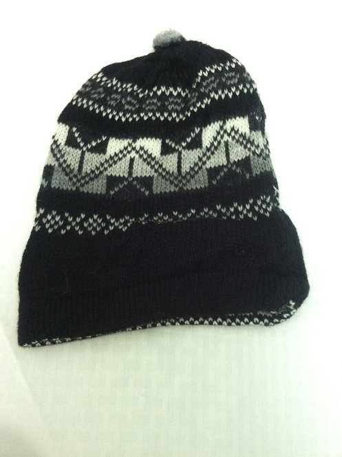 Black Ski Hat