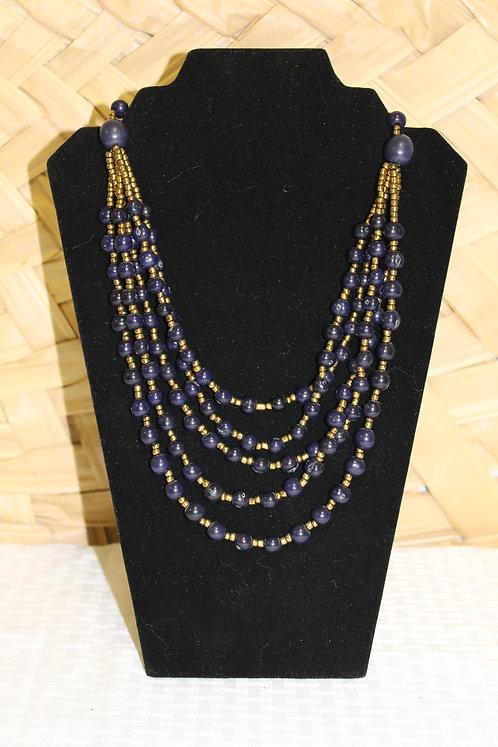Acai Necklace Blue