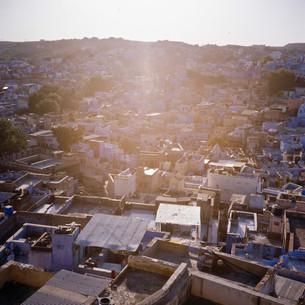 Sunset over Jodhpur, India