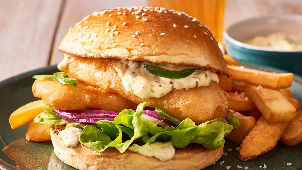 Classic Fish Burger