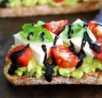 AVOCADO OPEN FACED SANDWICH