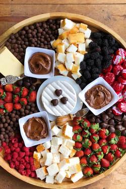 Chocolate & Cheese Board